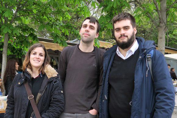 FELIPE, PAU Y JUAN CARLOS