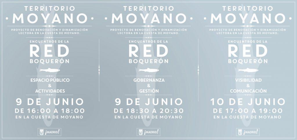 encuentros colaborativos moyano flyer